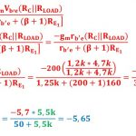 small signal amplifier task formulas 95