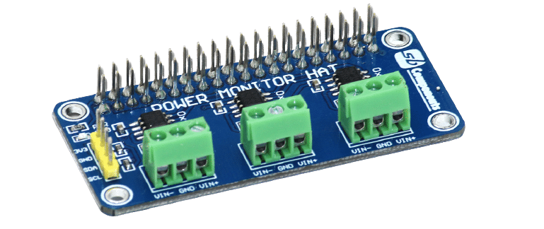 Power Monitoring HAT for Raspberry Pi